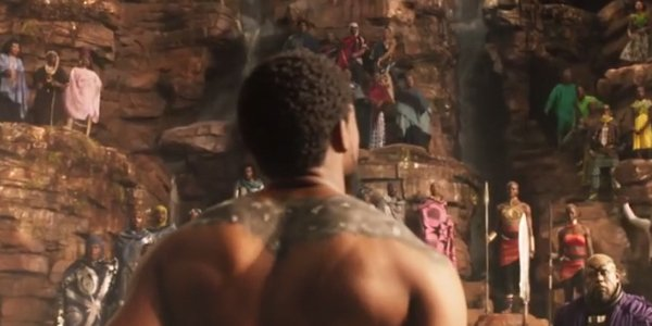 Chadwick Boseman Warrior Falls Black Panther