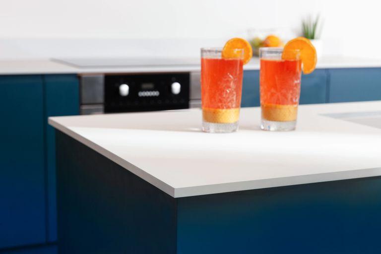 Fenix contemporary kitchen worktop
