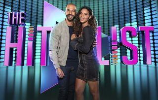 Marvin and Rochelle Humes hosting The Hit List
