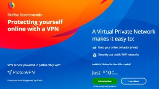 ProtonVPN on Firefox