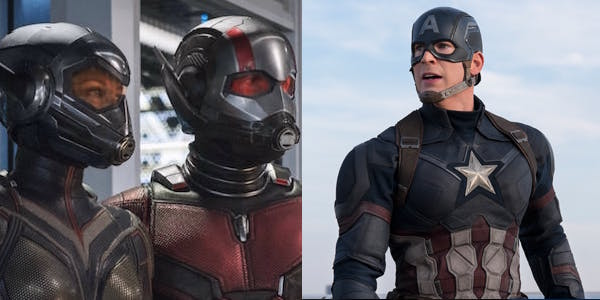 Ant-Man And The Wasp and Captain America