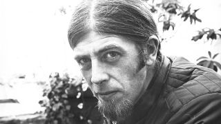 black and white portrait of John Mayall in 1971
