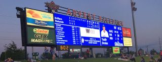 Northwest Arkansas Naturals Opened 2016 With New Daktronics LED Display