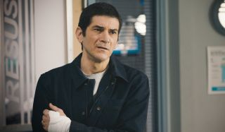 Lev Malinovsky realises it's time to take control of his life in Casualty.