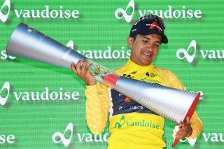 Richard Carapaz (Ineos Grenadiers) wins Tour de Suisse