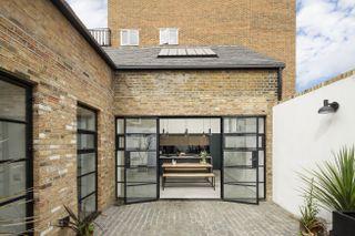 Belgian style patio doors