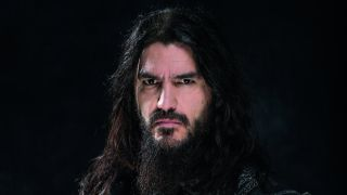 A press shot of Robb Flynn in 2016