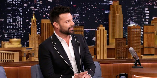 Ricky Martin on the Tonight show