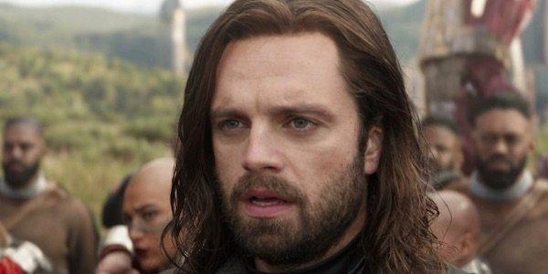 Bucky in Infinity War