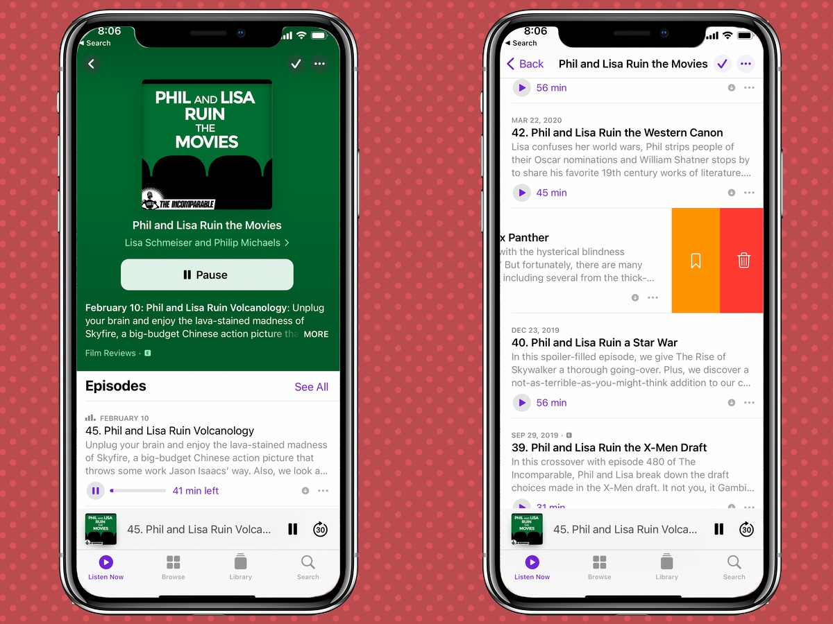 iOS 14.5 Podcasts