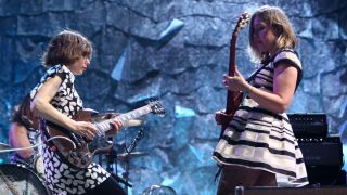 Sleater-Kinney perform live