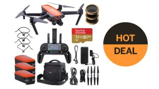 Save over $300 on this Autel Robotics EVO Quadcopter drone bundle!