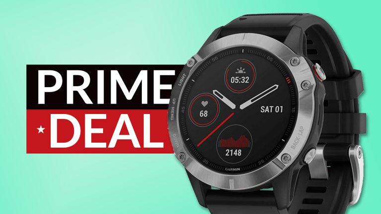 Cheap Garmin fēnix 6 deal Prime Day deal amazon prime day