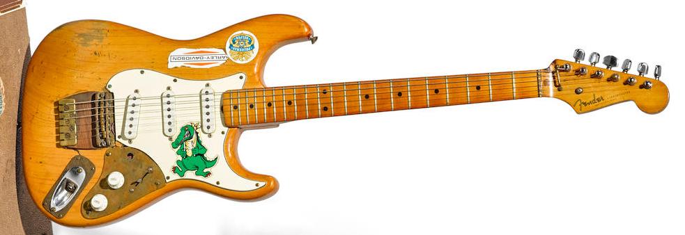 Jerry Garcia's 'Alligator' Fender Strat is hitting the auction block | Guitarworld
