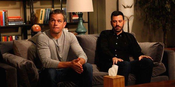 Matt damon Jimmy Kimmel Academy Awards Rivalry