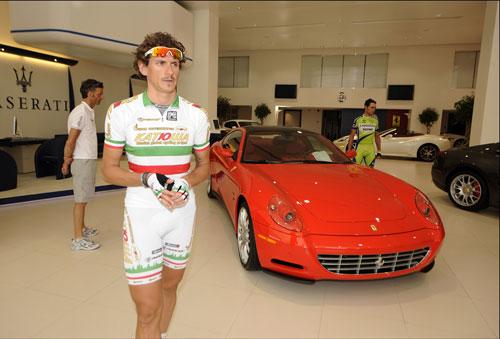 Filippo Pozatto and Ferrari, Tour of Qatar 2010, stage 4