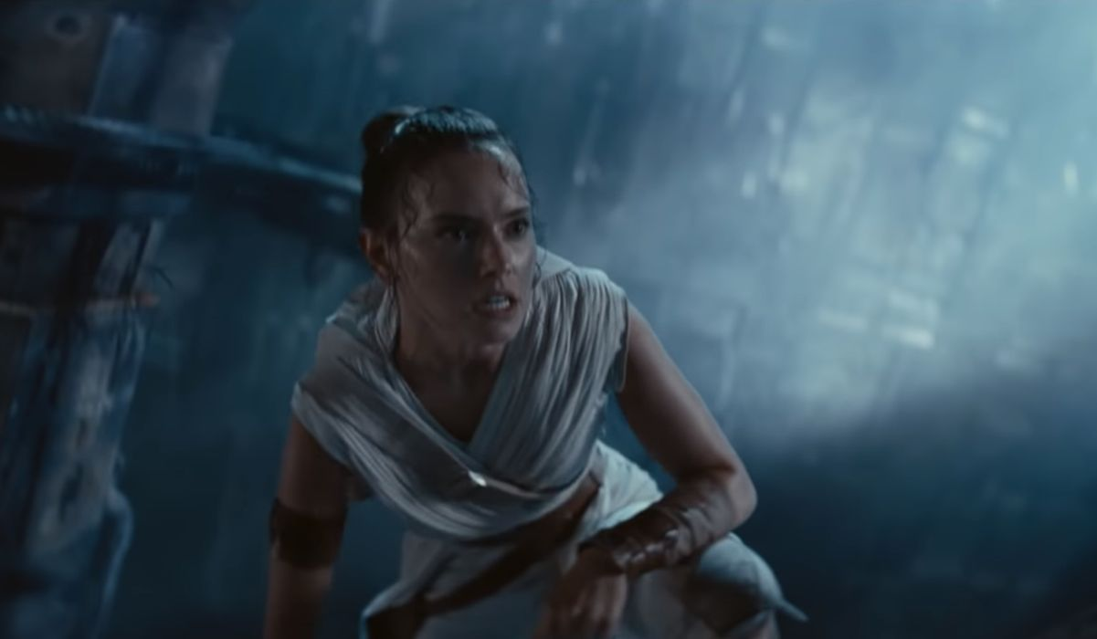 Rey in Star Wars The Rise of Skywalker