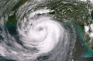 Hurricane Isaac satellite picture.