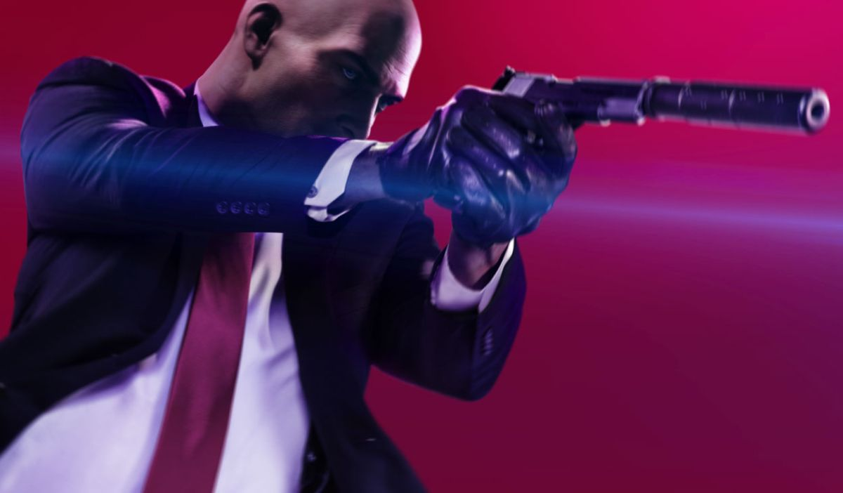 I Can T Stop Laughing At Hitman 2 S Homing Briefcase Pc Gamer