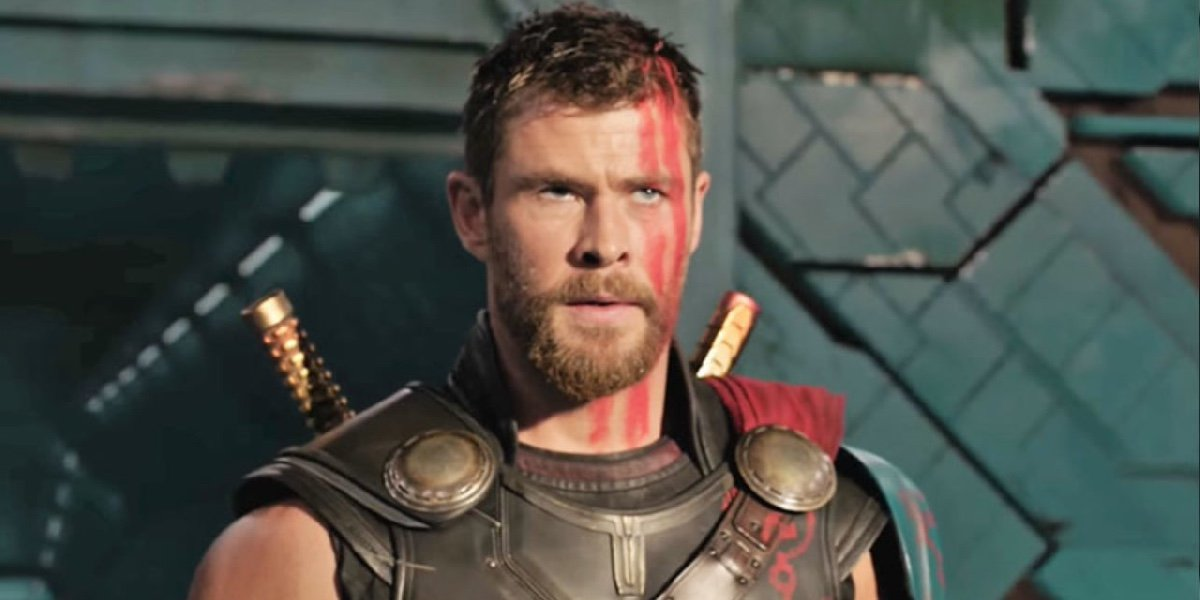 Chris Hemsworth as Thor in Thor: Ragnarok.