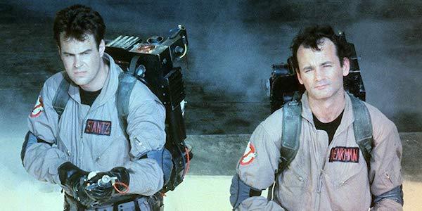 Dan Aykroyd and Bill Murray in Ghostbusters