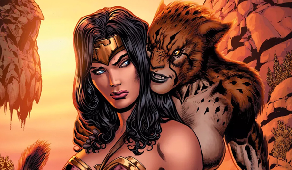 Cheetah Wonder Woman Rebirth