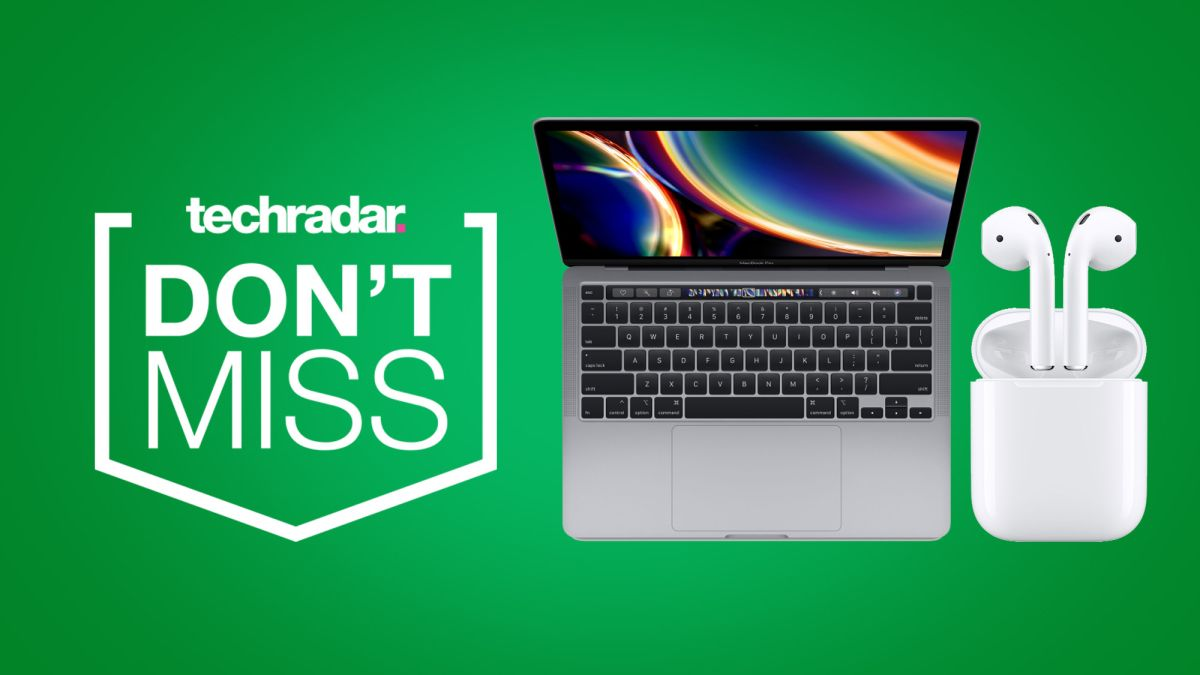 Back to school sales offer big discounts on MacBook deals with free AirPods thrown in - TechRadar