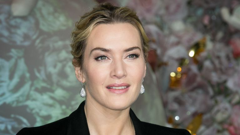 Actress Kate Winslet attends the Christmas Decorations Inauguration at Printemps Haussmann on November 6, 2015 in Paris, France