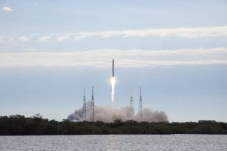 SpaceX Falcon 9 rocket launch to ISS