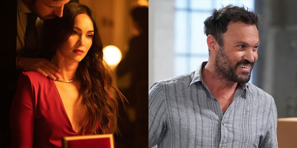 Megan Fox and Brian Austin Green in Till Death and The Conners after split