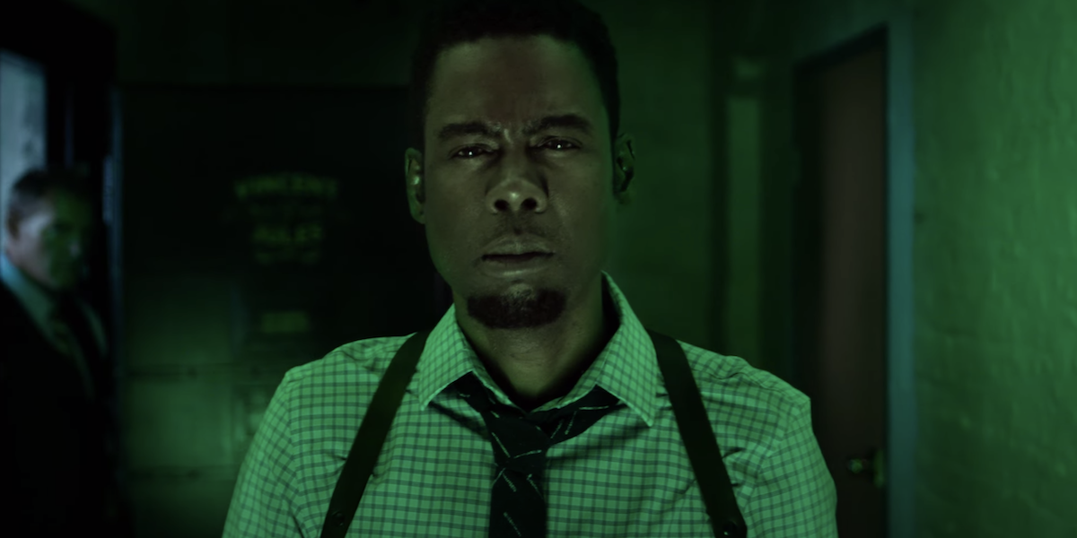 Chris Rock as Detective Zeke Banks in Spiral: From the Book of Saw