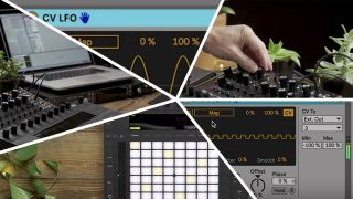 5 video tutorials utilising Ableton Live CV Tools with hardware synths, from Moog.