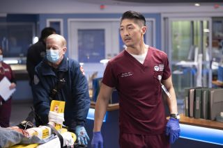 Brian Tee in NBC's 'Chicago Med'