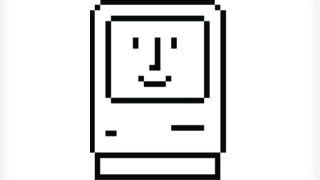 Classic smiling Mac