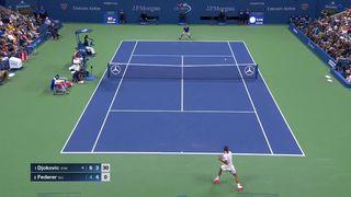 US Open live stream Roger Federer vs Novak Djokovic news