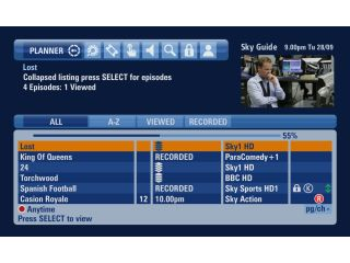 Sky+HD VOD will integrate into the new Sky HD guide