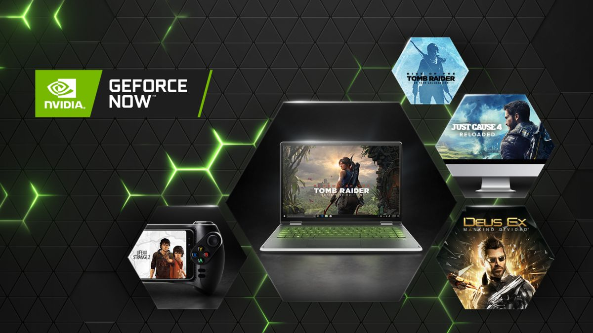 Nvidia GeForce Now gets Tomb Raider, Deus Ex games and more as Square Enix returns