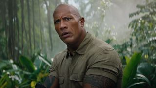 "Dwayne Johnson as ""Smolder"" Bravestone in Jumanji: The Next Level"