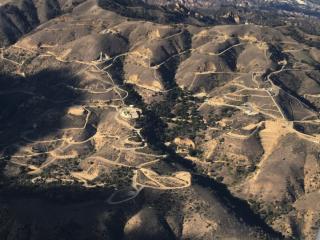 Aliso Canyon gas leak site