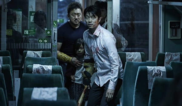 passengers get ready to fight in Train to Busan