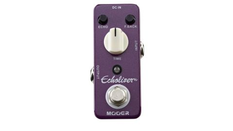 The Echolizer is a workman-like delay in a diminutive package