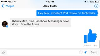 Facebook Messenger redesign on iOS and Android