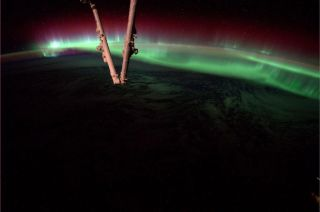 Auroras from space