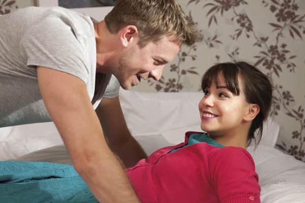 Hollyoaks' Ashley: 'Nancy's helped Darren grow up'