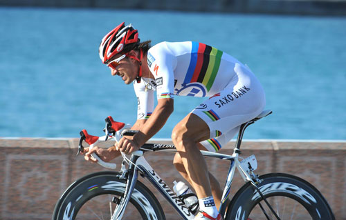 Fabian Cancellara, Tour of Oman 2010, stage 6 ITT
