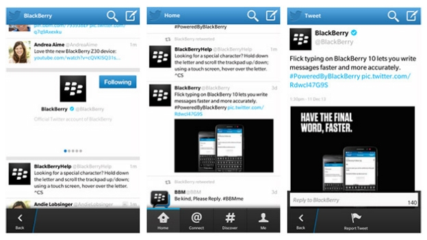 BlackBerry pulls Twitter update and offers downgrade advice   T3