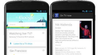 Google Now for Android can now listen in on your favourite TV shows