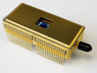 The British-made CCD200 detector - the most sensitive camera in the world