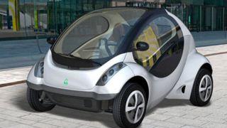 Hiriko folding electric car
