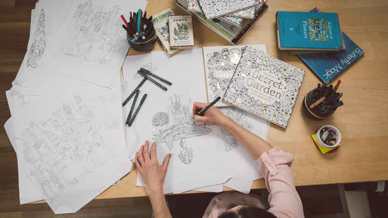 Bestselling Author On Why The Adult Colouring Book Is Here To Stay